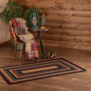 Wyatt Rectangle Braided Rug 36x60""