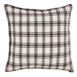 "Amory Plaid Pillow 16"" Filled - Primitive Star Quilt Shop"