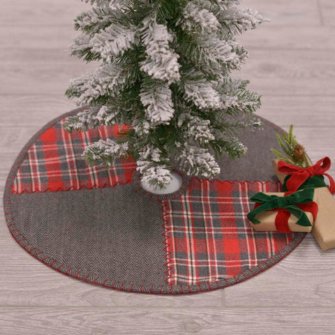 Anderson Patchwork Mini Tree Skirt 21""