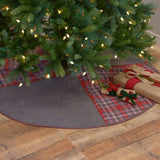 "Anderson Patchwork Tree Skirt 60"" - Primitive Star Quilt Shop"