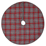 "Anderson Plaid Tree Skirt 48"" - Primitive Star Quilt Shop"