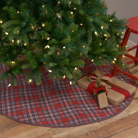 Anderson Plaid Tree Skirt 48""