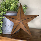 "12"" Barn Star - Primitive Star Quilt Shop"