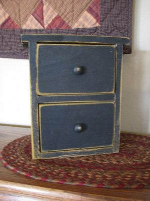 Black Farmhouse Drawers
