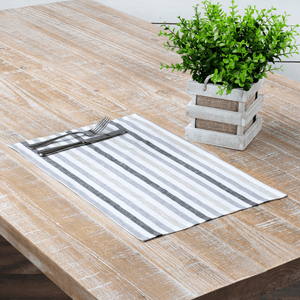 Blake Grey Placemat - Set of 6