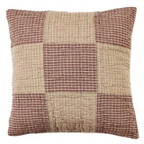 "Bradford Star Quilted Pillow 16"" Filled - Primitive Star Quilt Shop"