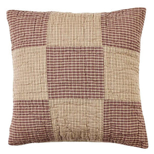 "Bradford Star Quilted Pillow 16"" Filled"