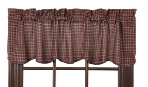 Bradford Star Scalloped Valance 60""