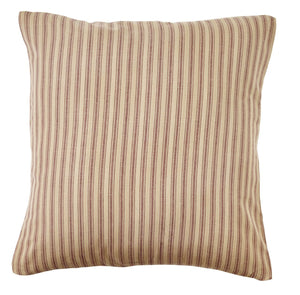 "Bradford Star Fabric Stripe Pillow 16"" Filled"