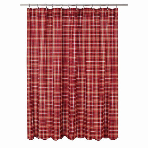 Braxton Scalloped Shower Curtain - Primitive Star Quilt Shop