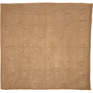 Burlap Natural Table Cloth 60x60""