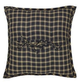 "Beckham Fabric Pillow 16"" Filled - Primitive Star Quilt Shop"