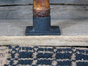 Iron Taper Candle Holder 2""