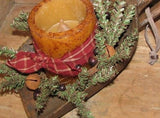 Primitive Christmas Treenware Large Scoop with Handle - Primitive Star Quilt Shop