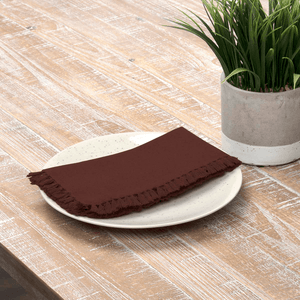 Cassidy Burgundy Napkin - Set of 6