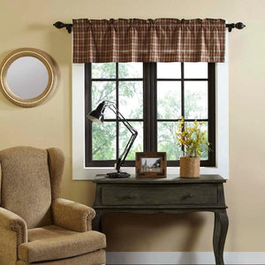Crosswoods Lined Valance 60""