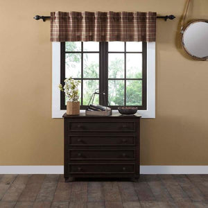 Crosswoods Lined Valance 72""