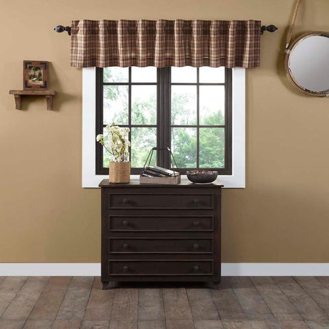 Crosswoods Lined Valance 90""