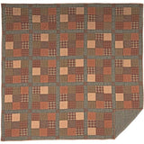 Crosswoods Quilt King Quilt- Primitive Star Quilt Shop