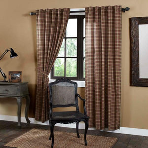 Crosswoods Lined Panel Curtains 84""