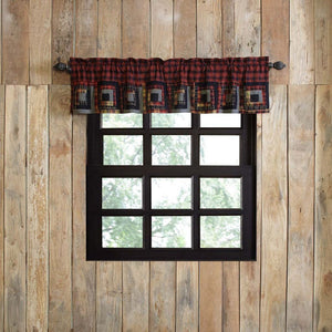 Cumberland Patchwork Lined Valance 72""