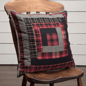 "Cumberland Quilted Pillow 18"" Filled"