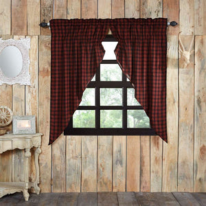 Cumberland Lined Prairie Curtains 63""