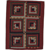 Cumberland Quilted Throw - Primitive Star Quilt Shop