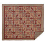 Dawson Star Quilt in 4 SIZES Luxury King Quilt- Primitive Star Quilt Shop