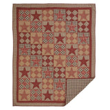 Dawson Star Quilt Twin Quilt- Primitive Star Quilt Shop