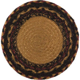 "Heritage Farms Crow Braided Trivet 8"" - Primitive Star Quilt Shop"