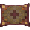 "Heritage Farms Quilted Standard Sham 21x27"" - Primitive Star Quilt Shop"