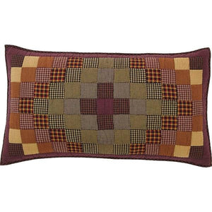 Heritage Farms Quilted King Sham 21x37""