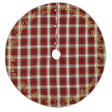 "HO HO Holiday Tree Skirt 55"" - Primitive Star Quilt Shop"