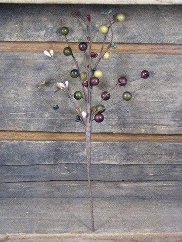"12"" Harvest Berry Pick - Primitive Star Quilt Shop"