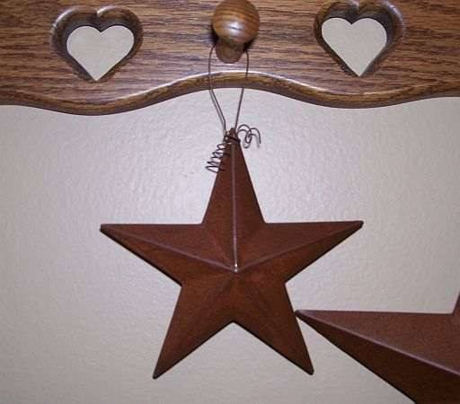"5"" Barn Star - Primitive Star Quilt Shop"