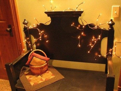 Willow Twig Lighted Garland Primitive Star Quilt Shop