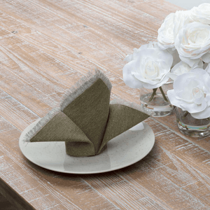 Jade Olive Napkin - Set of 6