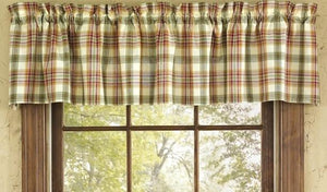 Lemon Pepper Unlined Valance 72""