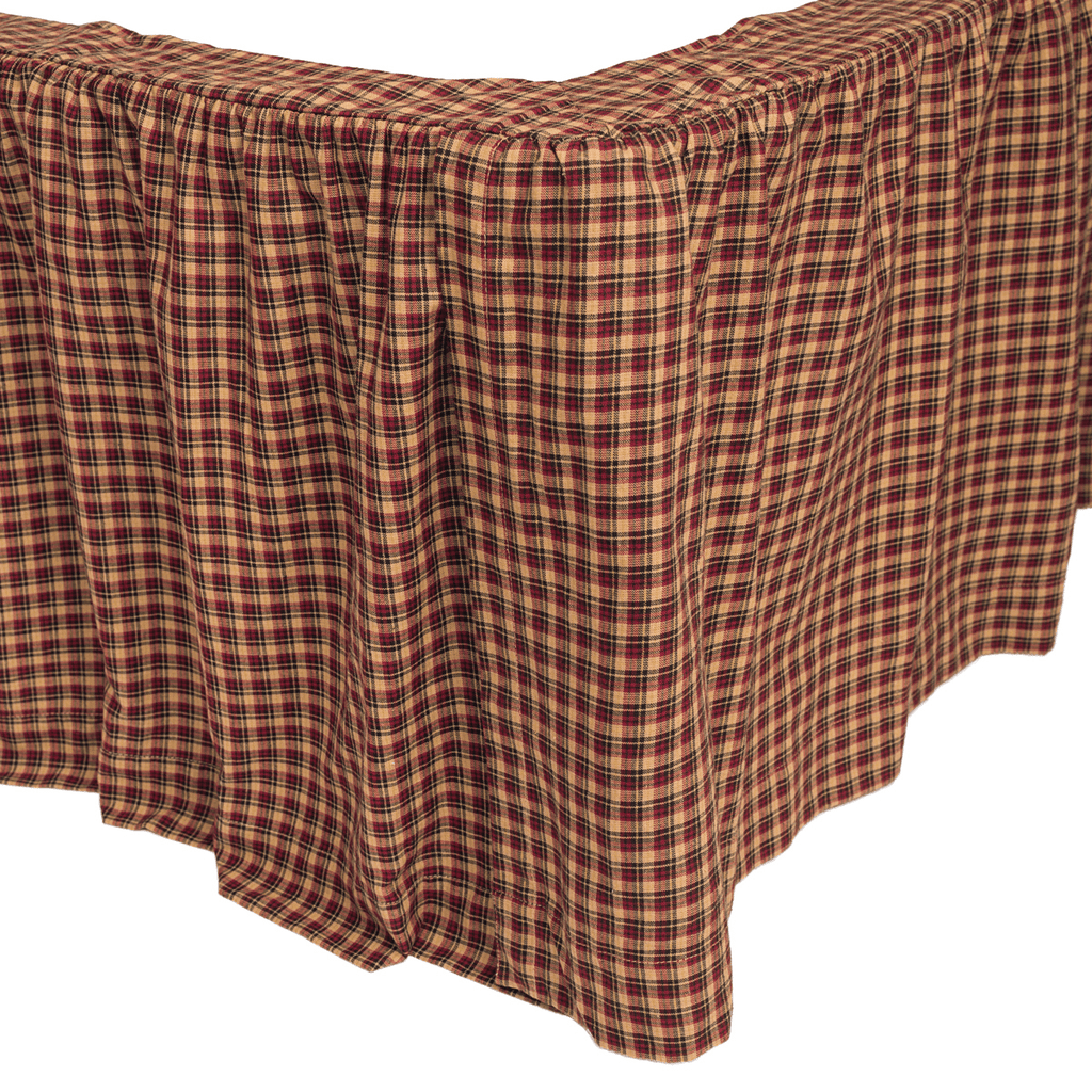 Patriotic Patch Bed Skirt in 3 SIZES