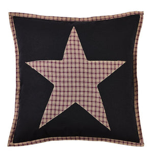 "Plum Creek Fabric Star Pillow 16"" Filled"