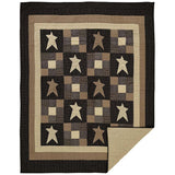 Primitive Star Quilt Twin Quilt- Primitive Star Quilt Shop