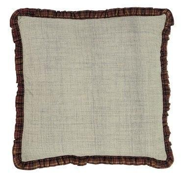 "Abilene Star Fabric Euro Sham 26x26"" - Primitive Star Quilt Shop - 1"