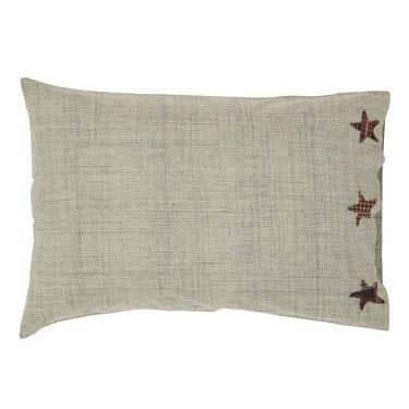 Abilene Star Pillow Case - Set of 2 - Primitive Star Quilt Shop