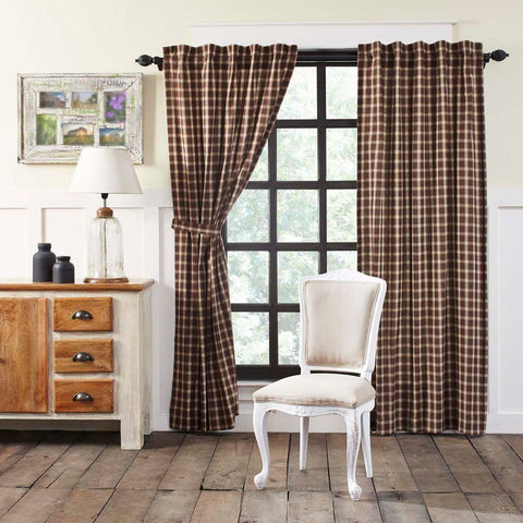 Rory Lined Panel Curtains 84""