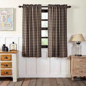 Rory Lined Short Panel Curtains 63""