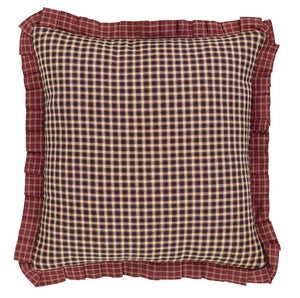 "Rutherford Fabric Pillow 16"" Filled"