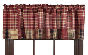 Rutherford Lined Valance 72""