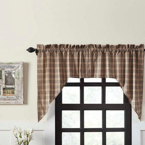 Sawyer Mill Lined Swag Curtains