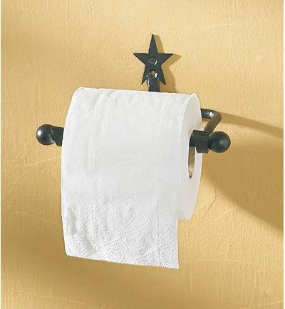 Star Toilet Tissue Holder - Primitive Star Quilt Shop